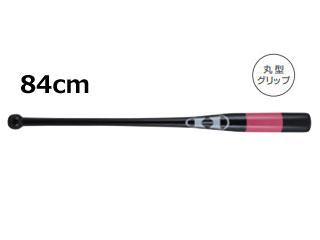 HI-GOLD/ハイゴールド KB-84 木製フィンガーノックバット 内野向け (ブラック×ピンク) 【84cm】【丸型グリップ】