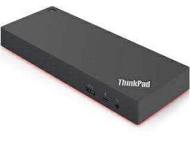 Lenovo/レノボ 【納期未定】ThinkPad Thunderbolt 3 Workstation ドック 40AN0230JP