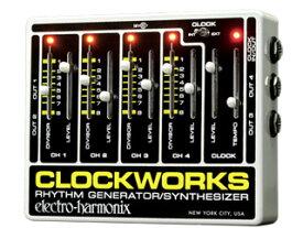 electro harmonix/エレクトロハーモニクス Clockworks リズムジェネレーター/シンセサイザー 【国内正規品】