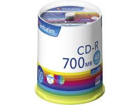 Verbatim/バーベイタム データ用CD-R 700MB 48倍速 100枚 スピンドルケース SR80FP100V1E
