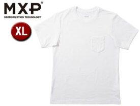 MXP/エムエックスピー MX14101-W ファインドライ ショートスリーブ クルーネック半袖シャツ メンズ【XL】(ホワイト)