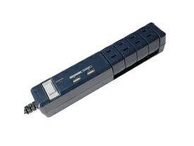 Fargo/ファーゴ TAPKING OAタップ USB AC4個口 2.4A USB2ポート ネイビー PTBK2604UNY