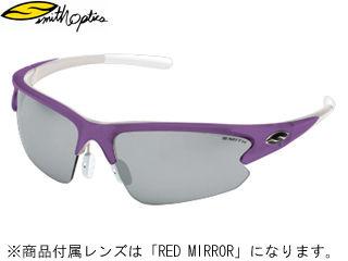 【nightsale】 Smith Optics/スミス REACTOR MAX-JP/リアクターマックス (フレーム/PURPLE WHITE) [レンズ/RED MIRROR] 【当社取扱いのスミス商品はすべて日本正規代理店取扱品です】