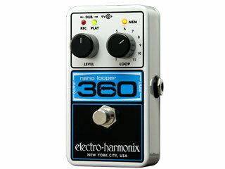 【nightsale】 electro harmonix/エレクトロハーモニクス NANO LOOPER 360 ルーパー エフェクター 【国内正規品】