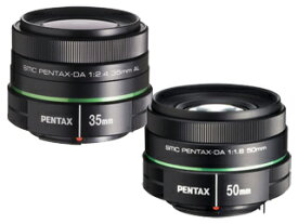【10SET限定!】 PENTAX/ペンタックス smc PENTAX-DA35mmF2.4AL(ブラック)+smc PENTAX-DA 50mmF1.8セット 【catokka】