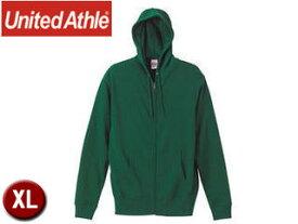 United Athle/ユナイテッドアスレ 521301 10.0オンス スウェットフルジップパーカ(パイル) 【XL】 (アイビーグリーン)