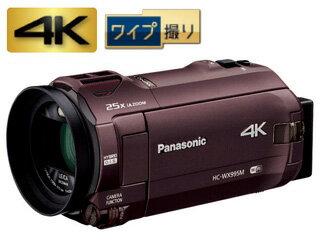Panasonic/パナソニック HC-WX995M-T(ブラウン) デジタル4Kビデオカメラ【あす楽対象品】