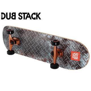 DUB STACK/ダブスタック DSB111-GY コンプリート スケートボード《スターターモデル》 (Gray)
