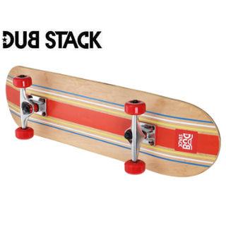 DUB STACK/ダブスタック DSB221-NA コンプリート スケートボード《プラクティスモデル》 (Natural)