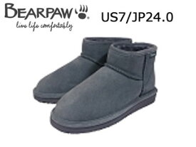 Bear paw/ベアパウ CI4BT016W ムートンブーツ Lena (Charcoal)【US7/JP24.0】【日本正規品】