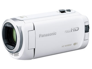 Panasonic/パナソニック HC-W585M-W(ホワイト) デジタルビデオカメラ 64GB内蔵メモリ【あす楽対象品】
