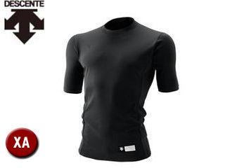 DESCENTE/デサント STD700-BLK 丸首 半袖 リラックスFITシャツ 【XA】 (ブラック)