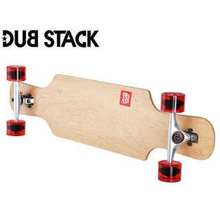 DUB STACK/ダブスタック LSB238-NA ロングスケートボード (ナチュラル)