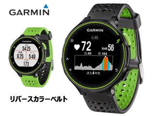 GARMIN/ガーミン 37176K ForeAthlete235J/フォアアスリート235J ランニングウォッチ (BlackGreen) 【当社取扱いのガーミン商品はすべて日本正規代理店取扱品です】