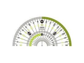 ORIONS/共栄プラスチック カラー分度器 グリーン CPK-90-G