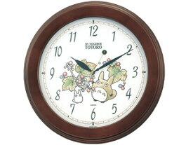 【あす楽対応】RHYTHM/リズム時計 在庫限りの大特価! ジブリ となりのトトロ グッズ 掛け時計 4KG690MA06 (c)Studio Ghibli 新生活やプレゼント・ギフトにオススメ! 木枠/クオーツ トトロM690A