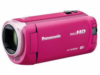 Panasonic/パナソニック HC-W585M-P(ピンク) デジタルビデオカメラ 64GB内蔵メモリ【あす楽対象品】