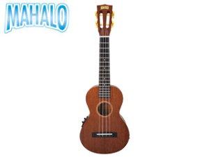 MAHALO/マハロ MJ2 VTTBR Javaシリーズ コンサートサイズ ピックアップ付き ウクレレ 【mahalouk】