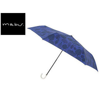 mabu world/マブワールド MBU-MLM01 折りたたみ傘 手開き 日傘/晴雨兼用傘 レジェ フラット 全16色 49.5cm (フォレストネイビー)