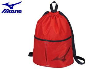 mizuno/ミズノ N3JD8002-62 プールバッグ ジュニア (レッド)