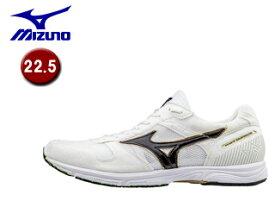 mizuno/ミズノ J1GA1775-09 ウエーブエンペラージャパン2 ランニングシューズ 【22.5】 (ホワイト×ブラック)