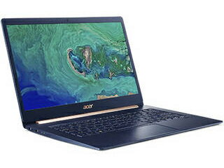 Acer/エイサー タッチ対応14型ノートPC Swift 5 SF514-53T-H58Y/B (Core i5-8265U/8GB/512G SSD/チャコールブルー)
