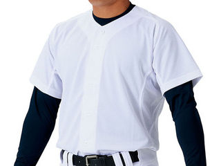 ユニフォームメッシュフルオープンシャツサイズ:2XOカラー:ホワイト