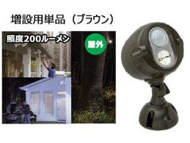 【nightsale】 シナジートレーディング MBN350 連動式LEDネットブライト (ブラウン) 【増設用単品】