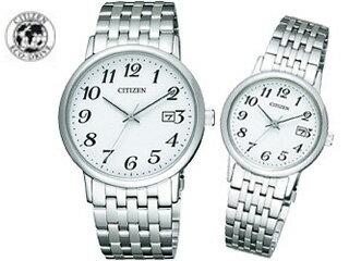 【nightsale】 CITIZEN/シチズン 【シチズンコレクションペアウオッチ】 ソーラー腕時計 (BM6770-51B/EW1580-50B) ※ギフトに最適です。【記念日】【贈り物】【プレゼント】
