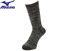 【nightsale】 mizuno/ミズノ A2JX4105-09 ドライベクター 中厚ウールソックス 【フリー(25-27cm)】 (ブラック)