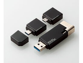Logitec/ロジテック Lightningコネクタ搭載USB3.1 Gen1メモリ ブラック LMF-LGU3A032GBK