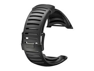 SUUNTO/スント SS018650000 Core Light Strap All Black (ウレタン ストラップ オールブラックライト) 【当社取扱いのスント商品はすべて日本正規代理店取扱品です】