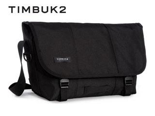 TIMBUK2/ティンバックツー 110846114 Classic Messenger クラシックメッセンジャーディップ 【M】 (Jet Black)