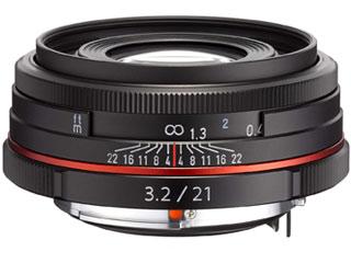 PENTAX/ペンタックス HD PENTAX-DA 21mmF3.2AL Limited(ブラック) 薄型広角レンズ