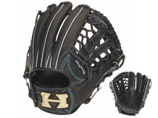 【nightsale】 HI-GOLD/ハイゴールド KKG-1145 硬式グラブ三塁手・オールポジション用 心極和牛 (ブラック) 【左投げ用】
