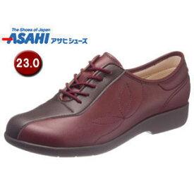 ASAHI/アサヒシューズ KS23511 快歩主義 L135 レディース ウォーキングシューズ 【23.0cm・3E】 (ワイン)