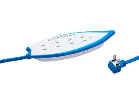 Fargo/ファーゴ Surf Tap/サーフタップ 雷サージガード付 AC4個口 コード長1.5m ホワイト PT406WH