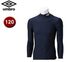 UMBRO/アンブロ UAS9300J JR L/Sコンプレッションシャツ 【120】 (ネイビー)