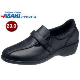 ASAHI/アサヒシューズ KS23543 快歩主義 L138AC アクティブシリーズ レディースシューズ 【23.0cm・3E】 (ブラック)