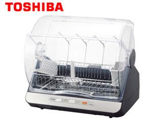 【nightsale】 TOSHIBA/東芝 VD-B15S-LK 食器乾燥器 マイコンタイプ 【容量 6人用】(ブルーブラック)
