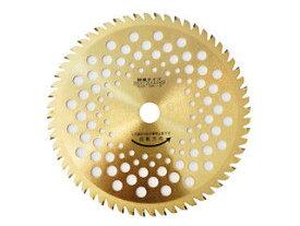 BAKUMA/バクマ工業 草刈チップソー スーパーゴールド 255×60 簡易包装 ハダカGL‐60