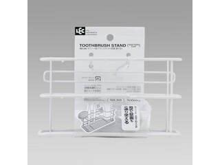 レック Wコート歯ブラシスタンド (吸盤・置き型)