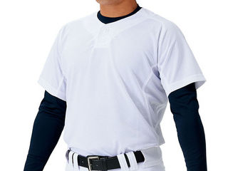 野球ユニフォームメッシュプルオーバーシャツメカパンサイズ:2XOカラー:ホワイト