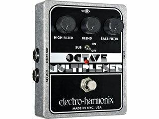【nightsale】 【納期にお時間がかかります】 electro harmonix/エレクトロハーモニクス Octave Multiplexer モノフォニックオクターバー エフェクター 【国内正規品】