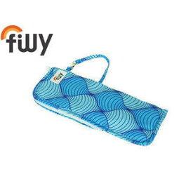 filly/フィリー 傘カバー 吸水 折りたたみ傘用 (アブストラクトウェーブ)