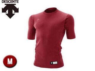 DESCENTE/デサント STD700-ENG 丸首 半袖 リラックスFITシャツ 【M】 (エンジ)