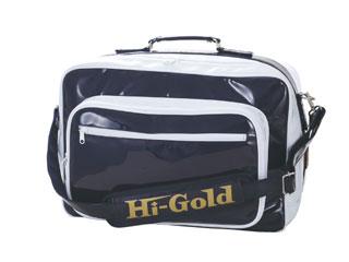 HI-GOLD/ハイゴールド HB-9400 エナメルショルダーバッグ ラージサイズ 【52L】(ネイビー×ホワイト)