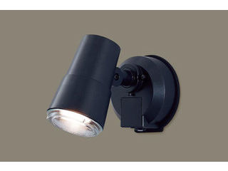 Panasonic/パナソニック LGWC45001BK LEDスポットライト オフブラック【電球色】【明るさセンサ】【壁直付型】