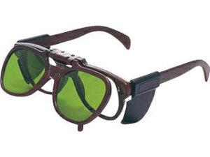 TRUSCO/トラスコ中山 複式上下自在型遮光メガネ 強化ガラスレンズ#4 TDSG-G4