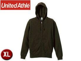 United Athle/ユナイテッドアスレ 521301 10.0オンス スウェットフルジップパーカ(パイル) 【XL】 (オリーブ)